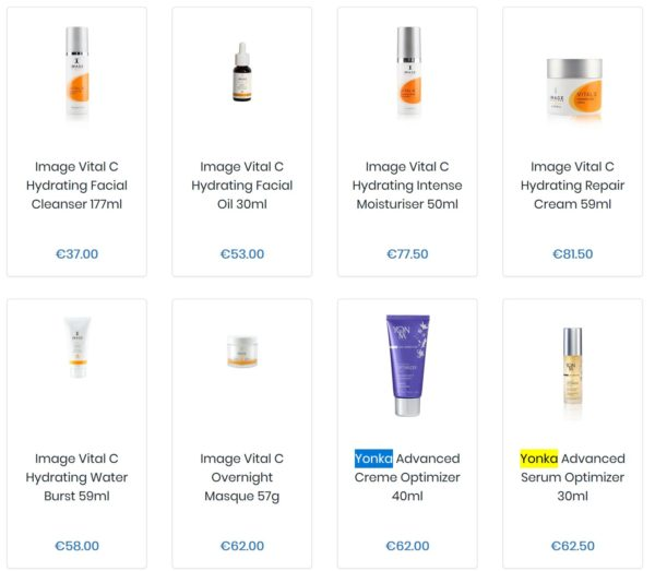 Azure Beauty Products Online Shop