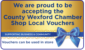 County Wexford Chamber Shop Local Voucher Participant